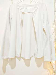Cape Blazer Broken White