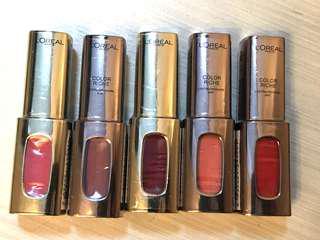 L'Oréal Lip colour