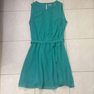 Downtown Turquoise Dress