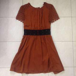 Mango Suit Crochet Dress #mcsfashion