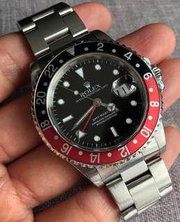 Rolex GMT-Master 2 16710 Coke