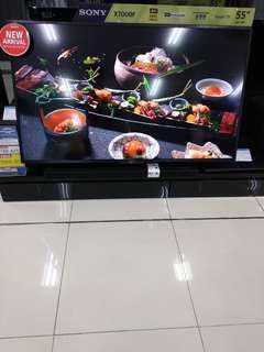 """Led TV Sony 55"""" inchi New (Bisa Cicilan Tanpa Kartu Kredit 3 Menit)"""