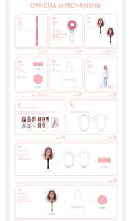 PO A Wonderful Day Yoona Fanmeeting Merchandise