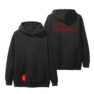 BTS LOVE YOURSELF TOUR INSPIRED HOODIE