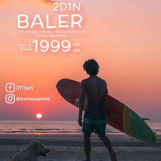 2D1N BALER TOUR PACKAGE