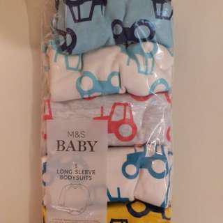 Baby Long Sleeve Bodysuits