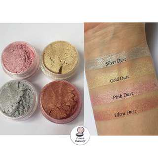 Loose pigments