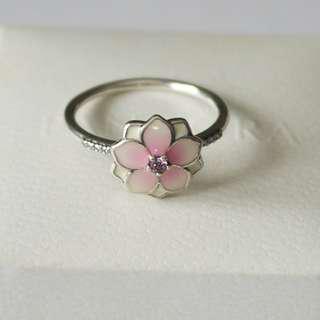 Pandora Magnolia Bloom Ring size 56