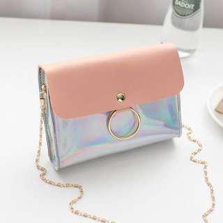 PO Hologram Sling Bag