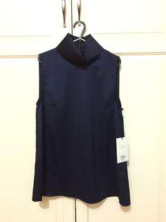 Camilla and Marc Navy Blouse