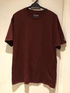Champion Maroon tshirt