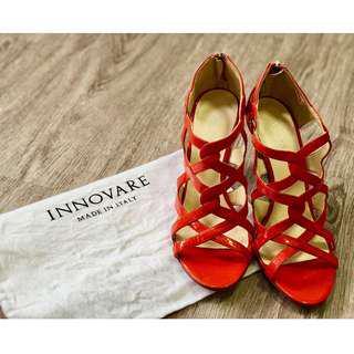Innovare brand - leather high heels