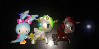 Tokidoki Hello Kitty Series 2 n Unicorno Metallico Series 3 Chaser - Milo
