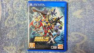 PS Vita Game~ Super Robot Wars X ( Chinese Version ). 100% WORKING GAME & TESTED!!!. ** PLEASE REPLY ME IN ENGLISH!!! 🤗 **