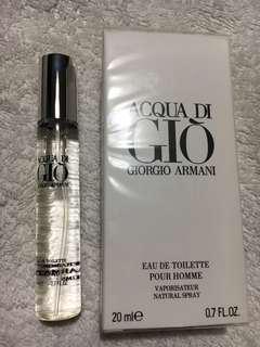 Authentic Tester Aqua di Gio