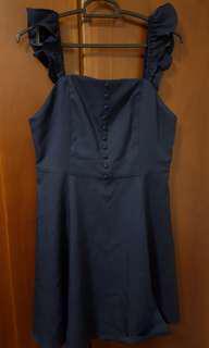 BN Doublewoot navy blue dress