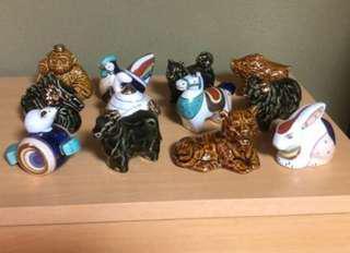 十二生肖 Chinese Zodiac Porcelain Miniture