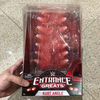 WWE Entrance Greats Kurt Angle Empty Box (Elite Defining Moments)