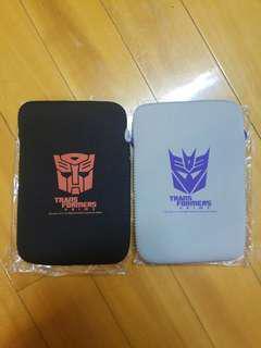 15hkd for 2 Transformers prime ipad mini 平板電腦保護袋 尿袋 叉電器 收納包