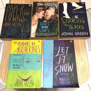 Novel John Green Terjemahan