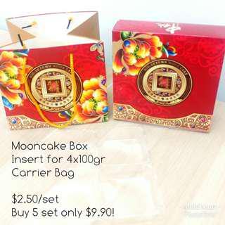 Mooncake Box Insert Carrier Bag Moon cake festival