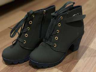 NEW Army Green Women Boots