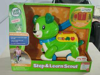 [BNIB] Leapfrog Step and Learn Scout