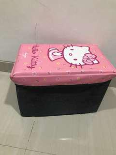 Storage box hello kitty