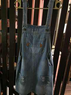 Denim overalls (bundle)