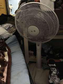 二手電風扇兩台ㄧ起賣(紅色風力微小,白色風力偏大,一切都始用正常,搬家中,歡迎自取)只要自取回去拆洗完跟新的差不多😯!