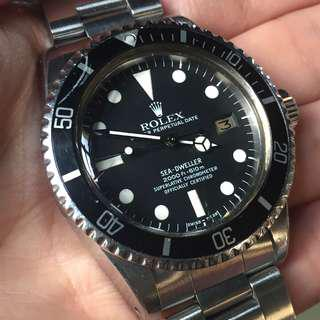 勞力士 Rolex Sea Dweller 1665 深潛 白字 Mark I 1680 5513 1675 1655