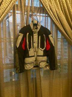 Dainese Jacket & Pants D-Stormer