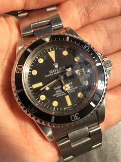 勞力士 Rolex Submariner 1680 Mark 2 1665 5513 1675 1655 16710 gmt