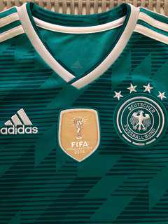 Adidas 💯% Authentic green Germany away jersey, size Youth XL for SGD$48
