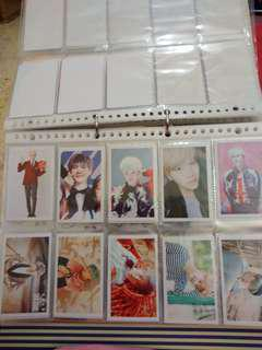 [WTS]jhope and suga lomo cards