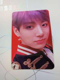 Selling Official Jungkook LY:Answer Photo card