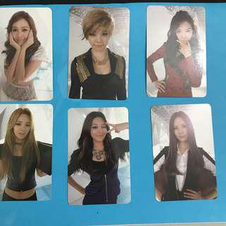 WTS SNSD OFFICIAL PHOTOCARD
