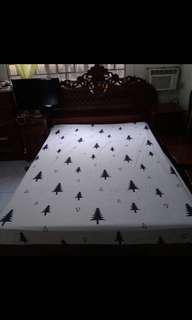 King size canadian cotton bedsheet/wholesaler