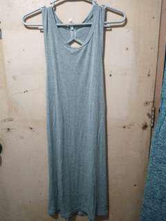 Grey sexy dress