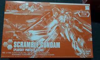 Scramble Gundam (Plavsky Particle Clear)