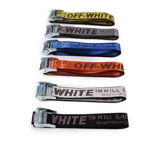 Off white belts