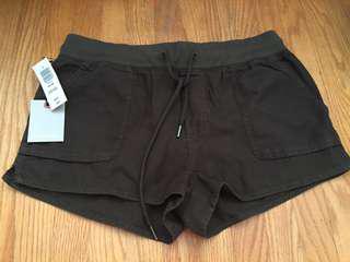 BNWT aritzia axiom shorts