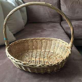 Rattan Basket (Used)