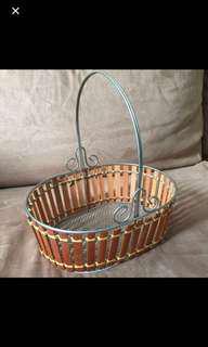 Wooden Basket (New)