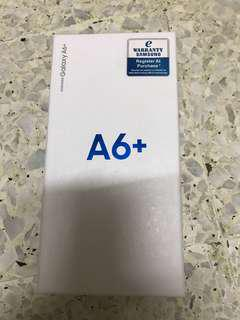 Samsung A6+ ,sealed box