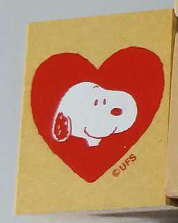 史路比Snoopy 木印章Stamp