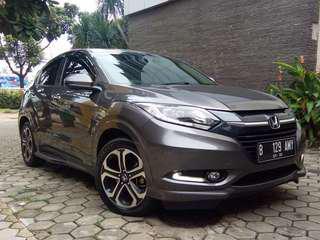 Honda HRV 1,8 Prestige matic 2015 Grey siap pakai