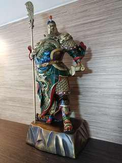 Guan Yu bronze figurine