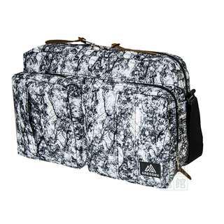 Gregory Twin Pocket Shoulder Bag M 白樹紋