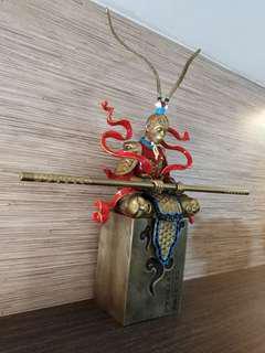 Sun Wu Kong bronze figurine